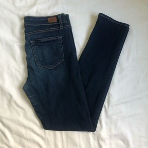 Paige Skinny High Rise Medium Wash Jeans